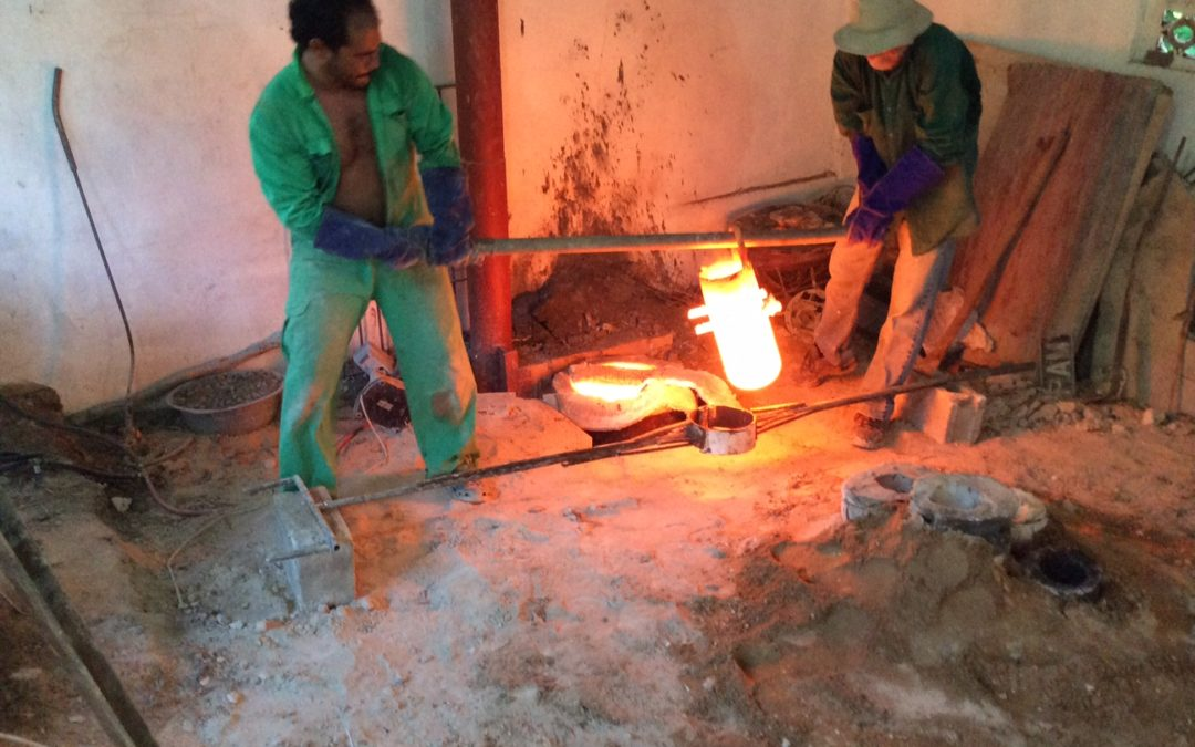 Bronze Casting in Tobago